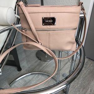 Handbags - NWOT Nude Crossbody Purse